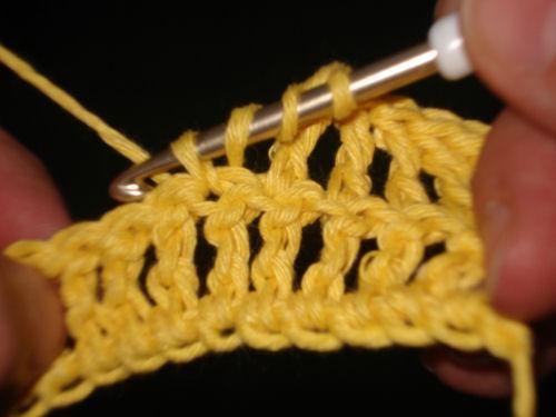 Häkeln Lernen Das Doppeldtäbchen Handarbeiten