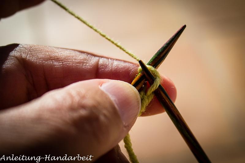 Stricken Anleitung Eine Kordel Stricken Handarbeiten